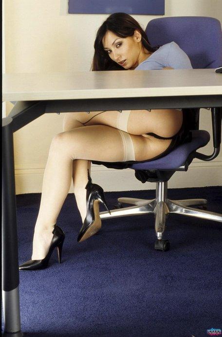 Secretarias Masturbandose En El